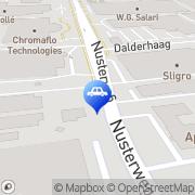 Kaart Mitsubishi Heavy Industries Europe Ltd CAC Sittard, Nederland