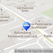 Karte Kelzenberg Stolberg, Deutschland