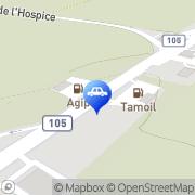 Carte de Stations-Service Tamoil Anières, Suisse