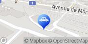 Carte de ASB auto secours Lausanne SA Lausanne, Suisse