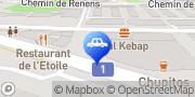 Carte de Autopièces service Maury P. SA Lausanne, Suisse