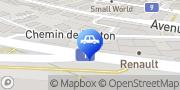 Carte de Mojip-Auto Sàrl Lausanne, Suisse