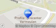 Kaart Profile Tyrecenter Vermeulen Eibergen, Nederland