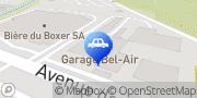 Carte de Garage Bel-Air SA Yverdon-les-Bains, Suisse
