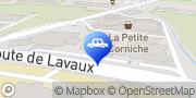 Carte de Garage de la Petite Corniche Michel Delessert SA Lutry, Suisse