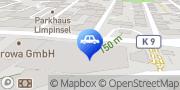 Karte CONTIPARK Parkhaus Hofkamp Wuppertal, Deutschland