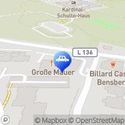 Karte GTM Solution GmbH Bergisch Gladbach, Deutschland