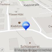 Karte Landhandel Nord-West GmbH & Co. KG - Kiebitzmarkt Hage, Deutschland