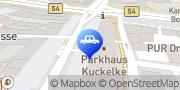 Karte CONTIPARK Parkplatz Kuckelke Dortmund, Deutschland
