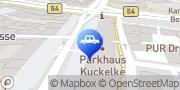 Karte CONTIPARK Parkhaus Kuckelke Dortmund, Deutschland