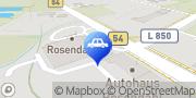 Karte Autohaus Rosendahl Skoda Drensteinfurt, Deutschland
