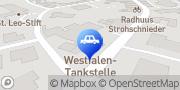 Karte Westfalen Tankstelle - Essen / Oldenburg, Lange Str. 100 Essen (Oldenburg), Deutschland