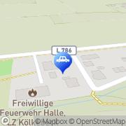 Karte Peppo's Garage Halle, Deutschland