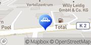Karte TOTAL Tankstelle Frankenthal (Pfalz), Deutschland