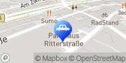 Karte CONTIPARK Parkhaus Ritterstraße Bielefeld, Deutschland