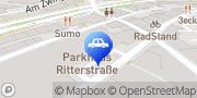 Karte CONTIPARK Parkplatz Ritterstraße Bielefeld, Deutschland