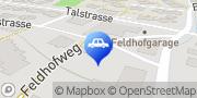Karte Feldhof Garage AG Uetikon am See, Schweiz