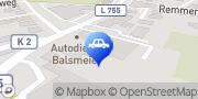 Karte Autofit Balsmeier Borchen, Deutschland