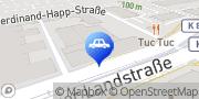 Karte Land Rover Range Rover Autohaus Frankfurt am Main, Deutschland