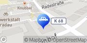 Karte Fahrschule Lampe Inh. Thomas Trier Marburg, Deutschland