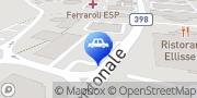 Map Migrol Service Manno, Switzerland