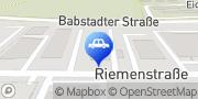 Karte Wintec Autoglas Fachbetrieb Henning Götzinger Bad Rappenau, Deutschland