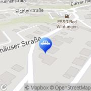 Karte TTF Die Fahrschule GmbH Bad Wildungen, Deutschland