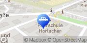 Karte Fahrschule Horlacher Stuttgart, Deutschland