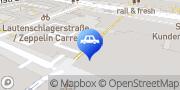 Karte Q-Park Galeria Kaufhof Stuttgart, Deutschland