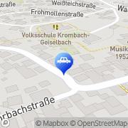 Karte Bangla Geiselbach, Deutschland