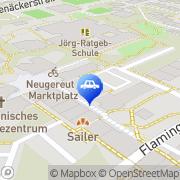 Karte Fahrschule Hofmann Stuttgart, Deutschland