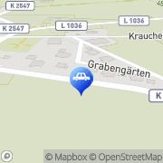 Karte Herbert Kraft Braunsbach, Deutschland