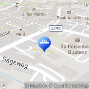 Karte Seeberger Norbert Autogarage-Schleppservice Bludenz, Österreich