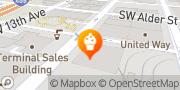 Map Saint Cupcake Portland, United States