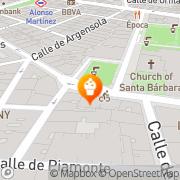 Map Cosmen & Keiless Madrid, Spain