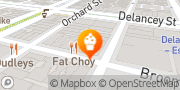 Karte Babycakes NYC New York City, USA