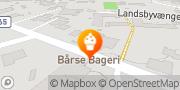 Kort Bårse Bageri Præstø, Danmark