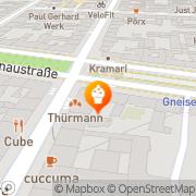 Karte Akyeuz Baeckerei Berlin, Deutschland