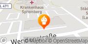Karte Feinback GmbH Spremberg, Deutschland