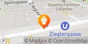 Karte Gradwohl Bio Vollwertbäckerei Wien, Österreich