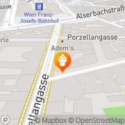 Karte Anker Snack & Coffee Wien, Österreich