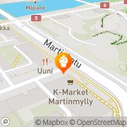 Kartta Naantalin Aurinkoinen Ky Turku, Suomi