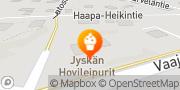 Kartta Jyskän Hovileipurit Ky Jyskä, Suomi