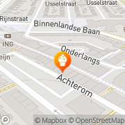 Kaart Bussing J Barendrecht, Nederland