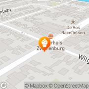 Kaart Bertram BV Speciaal Bakkerij Nol Zwanenburg, Nederland