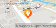 Kaart Müller Banketbakkerij Ab Aalsmeer, Nederland