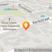 Kaart Oers Bakkerij P van Hank, Nederland