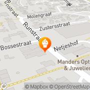Kaart Sanders Warme Bakker Marcel Schaijk, Nederland