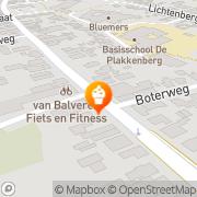 Kaart Bakker Jos de Silvolde, Nederland