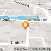 Kaart Olderwetse Bakkerieje bv d' Assen, Nederland